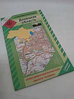 акКРТ ВКФ (1:200 000) Донецкая обл. Топографическая карта