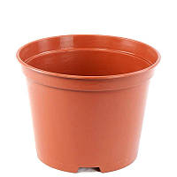 Горшки пластиковые для рассады 12 см (0,6 л). Горщик для розсади Kloda. тех. тара