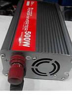 Автомобильный преобразователь напряжения Павер Инвертер Элит Люкс 500 Вт Power Inverter ELITE lux 12/220v 500 , фото 1