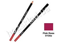 Карандаш для глаз и губ деревянный Jovial Luxe ML-185 №13 розовая роза