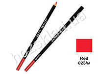 Карандаш для глаз и губ деревянный Jovial Luxe ML-185 №23 красный