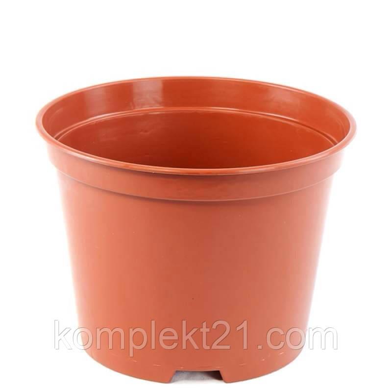 Горшки пластиковые для рассады 8.5 см (0,22 л).  Горщик для розсади Kloda. Техтара