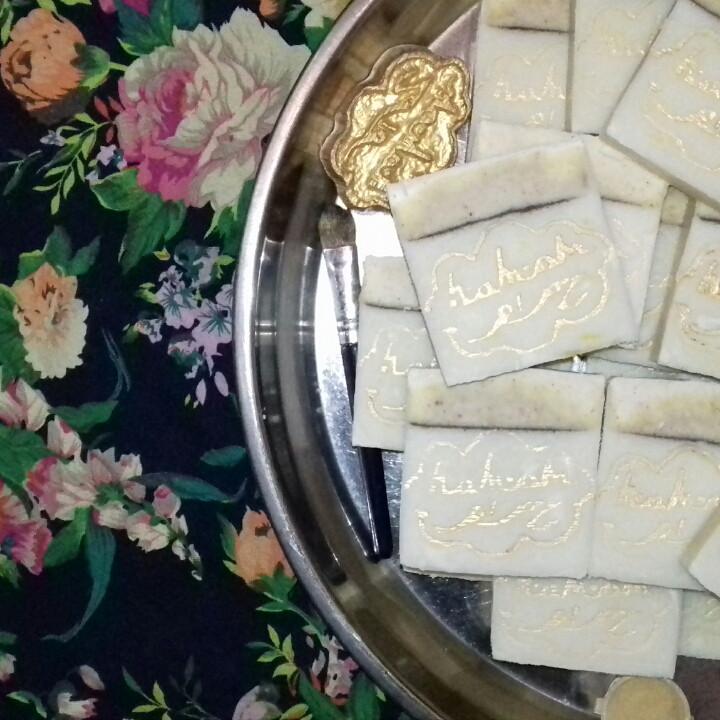 """3 шт Натуральное мыло, МЫЛО-ШАМПУНЬ с сандалом и жасмином в коробке  ТМ """" hamam"""""""