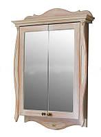 Шкаф зеркальный Атолл Ривьера apricot (персик)