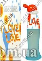 Женская туалетная вода Moschino - Cheap and Chic - I Love Love 100мг