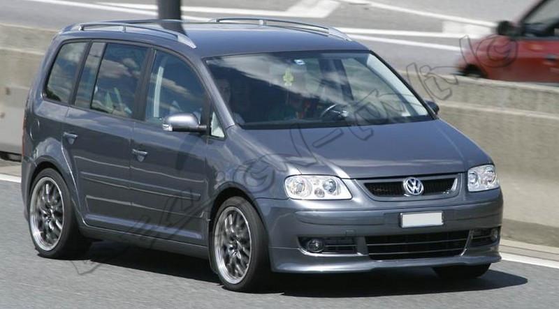 Обвес VW Caddy тюнинг губа на передний бампер (V1)