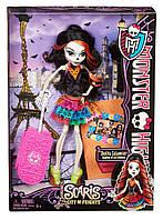 Кукла Монстр Хай Skelita Calaveras Scaris Скелита в Париже (Скариж) Monster High, фото 1