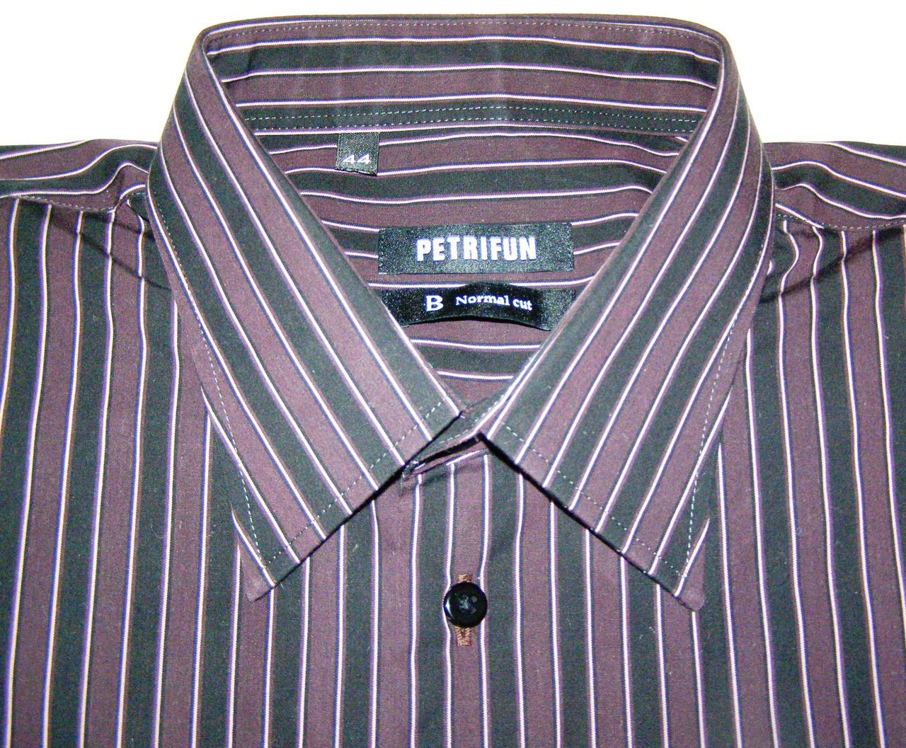 Рубашка мужская PETRIFUN (XL/44)