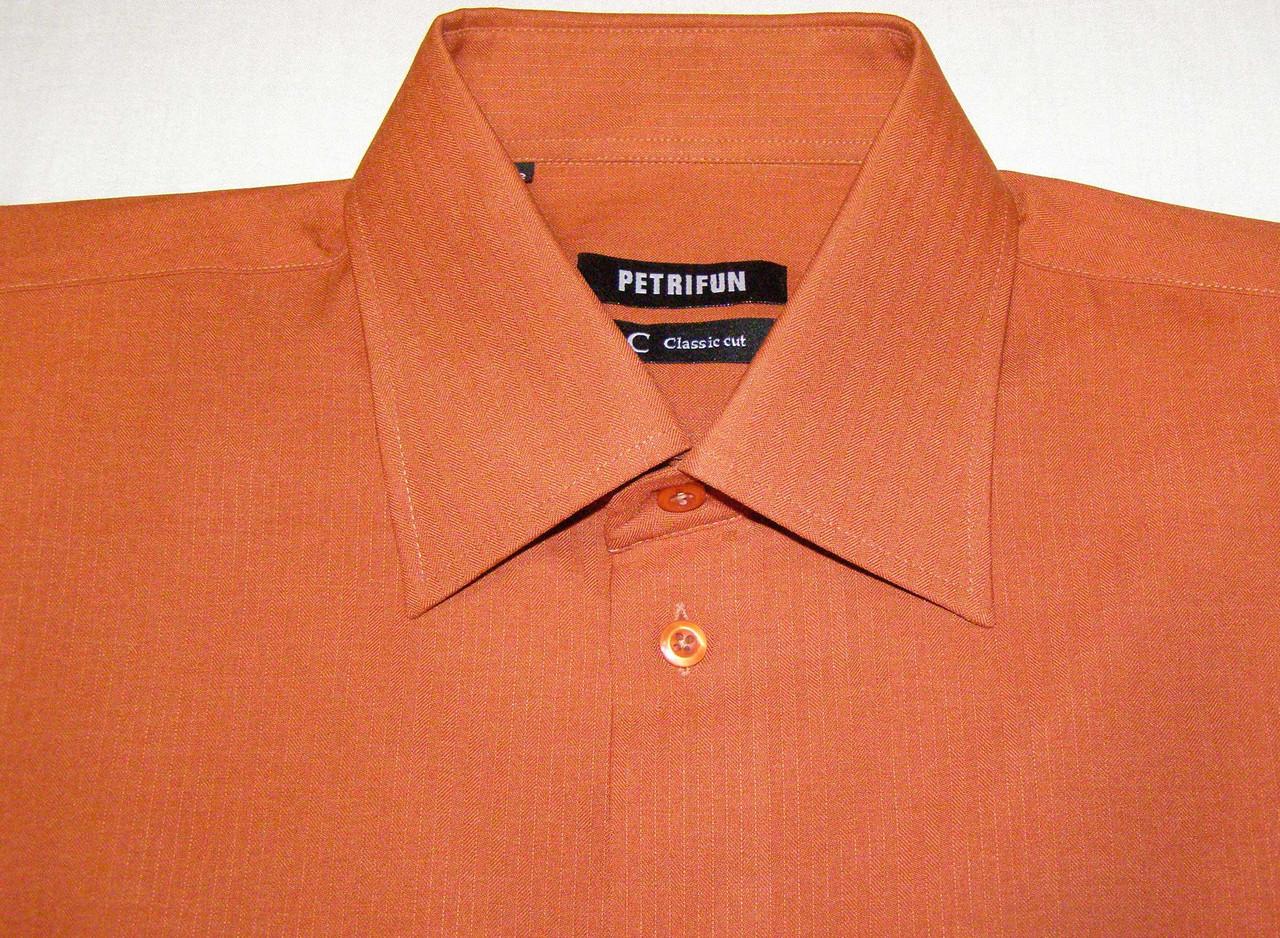 Рубашка мужская PETRIFUN (ХL/42)