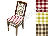 """Подушка на стул """"Клетка"""""""
