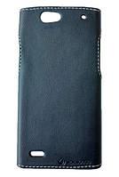 Чехол накладка Status для Sony Xperia Z2 L50 Black Matte