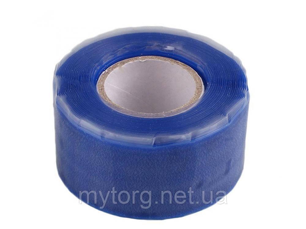 Вулканизирующая лента для герметизации труб и течей  Синий, фото 1