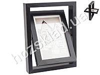 Рамочка настольная вращающаяся для 2-х фотографий МДФ под пластиком 16х21см