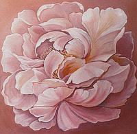 Фреска цветы — картины на штукатурке(печать и нанесение фрески)киев