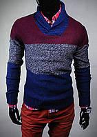 Теплий мужской реглан, теплая мужская кофта