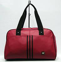 Женская спортивная сумка Adidas саквояж большой розовый код 012401, фото 1