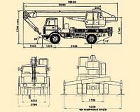 Автокран 20 тонн ( КС-45719-5А )