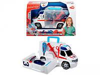Автомобиль Dickie Toys Скорая помощь с набором врача (3716000)