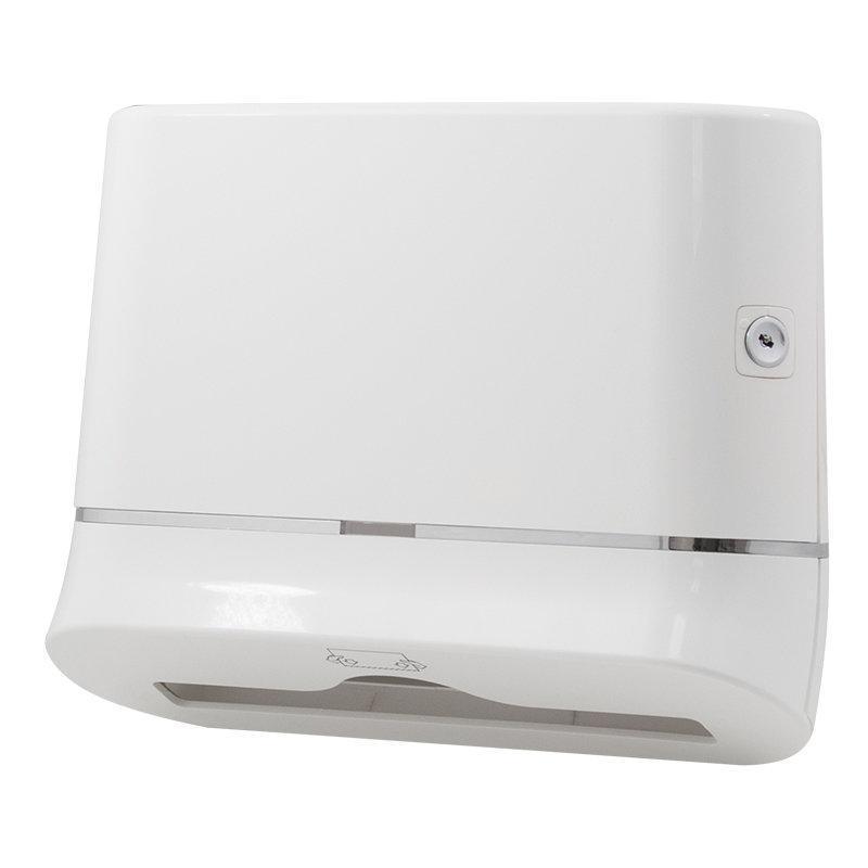 Раздатчик складных бумажных полотенец Trento, белый, 250-300 листов