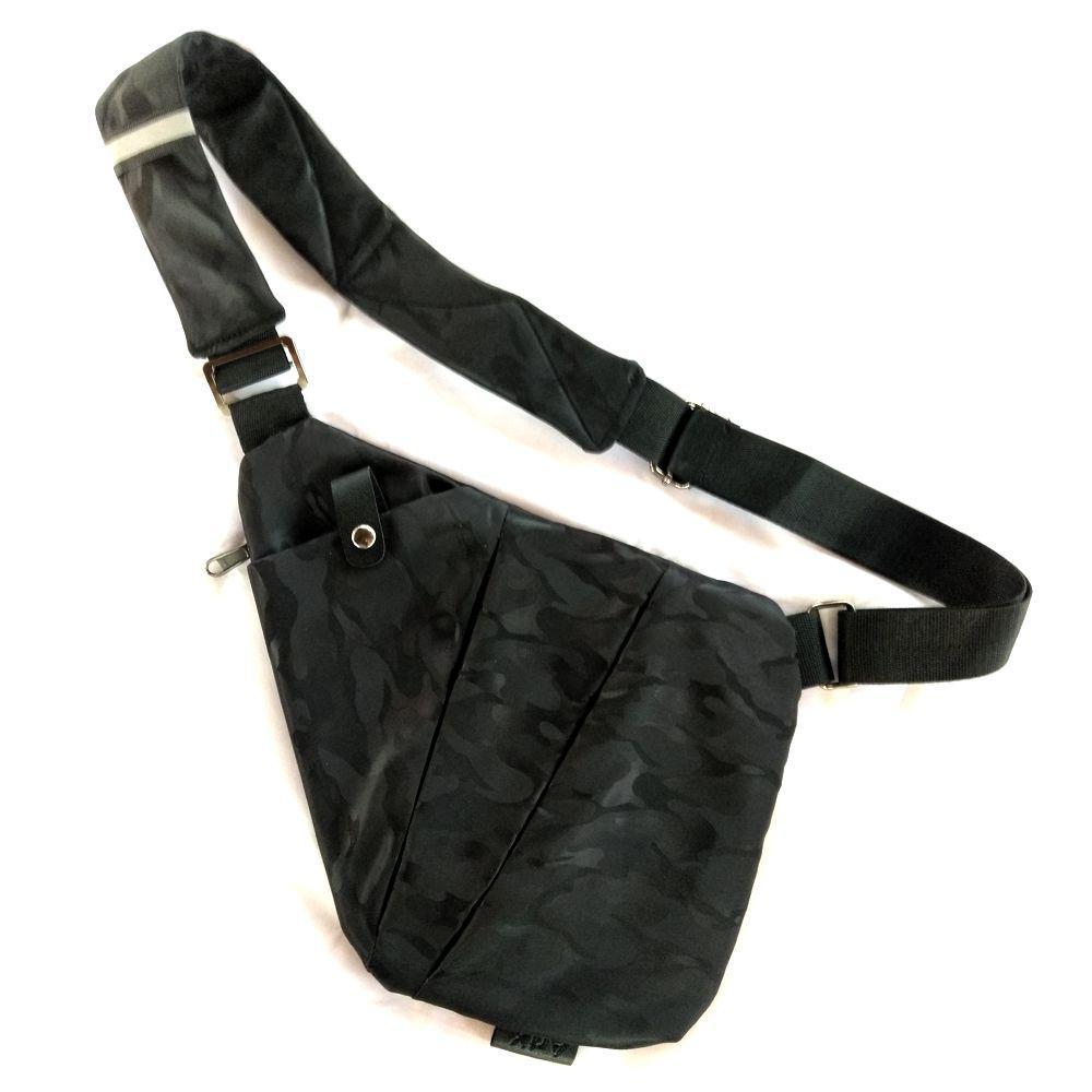 fc40e0897cbb Рюкзак-сумка-кобура Cross Body ArtX Style Чёрный камуфляж #3JK ...