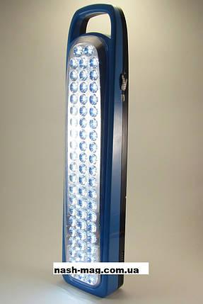 Аварийный LED светильник с аккумулятором YJ-6828, фото 2