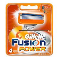 Gillette Fusion - сменные кассеты (4 шт)