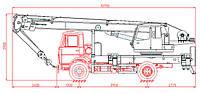 Автокран 20 тонн - КС-45729-3-02
