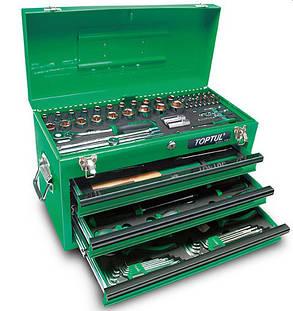 Ящик с инструментом 3 секции 99 ед. Toptul GCAZ0038, фото 2