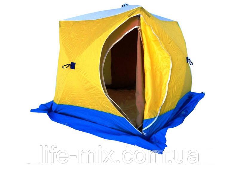 Палатка для зимней рыбалки СТЭК КУБ-2 (трехслойная)