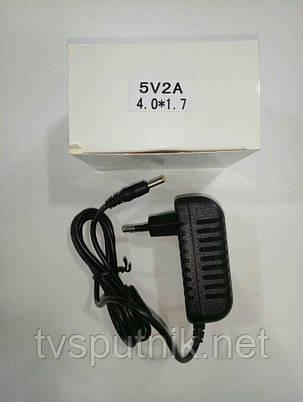 Блок питания Prowest 5V 2ah (4х1.7мм), фото 2