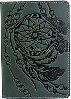 Обложка на паспорт SHVIGEL 13836 зеленая