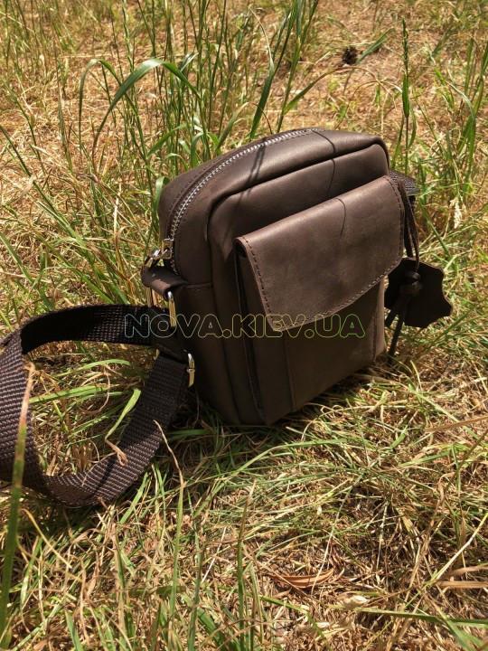 Купить Сумка SHVIGEL 11077 из винтажной кожи коричневая в Киеве от ... 4b2a4aedb8169