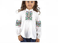 Заготовка вишиванки дитячої сорочки та блузи для дівчаток вишивки бісером  Бисерок «Радість» (Д a6a9801e4a012