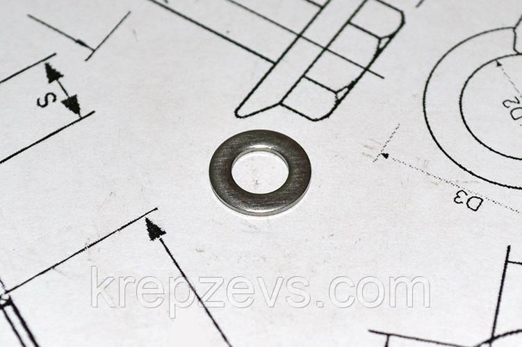 Шайба Ф24 плоская ГОСТ 11371-78 из стали А4