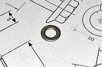 Шайба Ф24 плоская ГОСТ 11371-78 из стали А4, фото 1