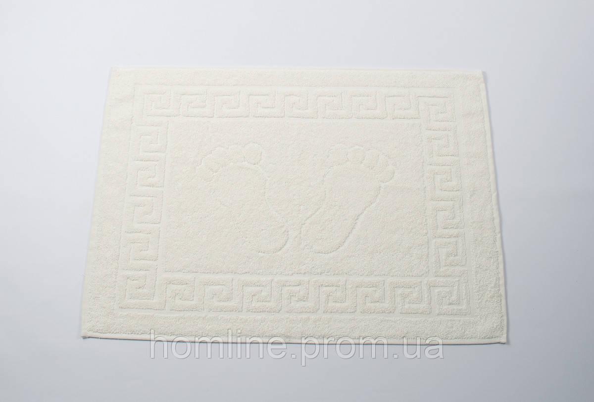 Полотенце для ног Lotus Отель Кремовый (550 г/м²) 50*70