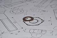 Шайба Ф27 плоская ГОСТ 11371-78 из стали А4, фото 1