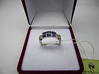 Женское золотое кольцо с бриллиантами, Размер 15.7, фото 1