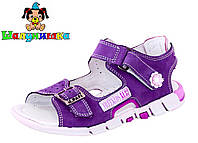 Летние сандалии для девочки 854-523, фото 1