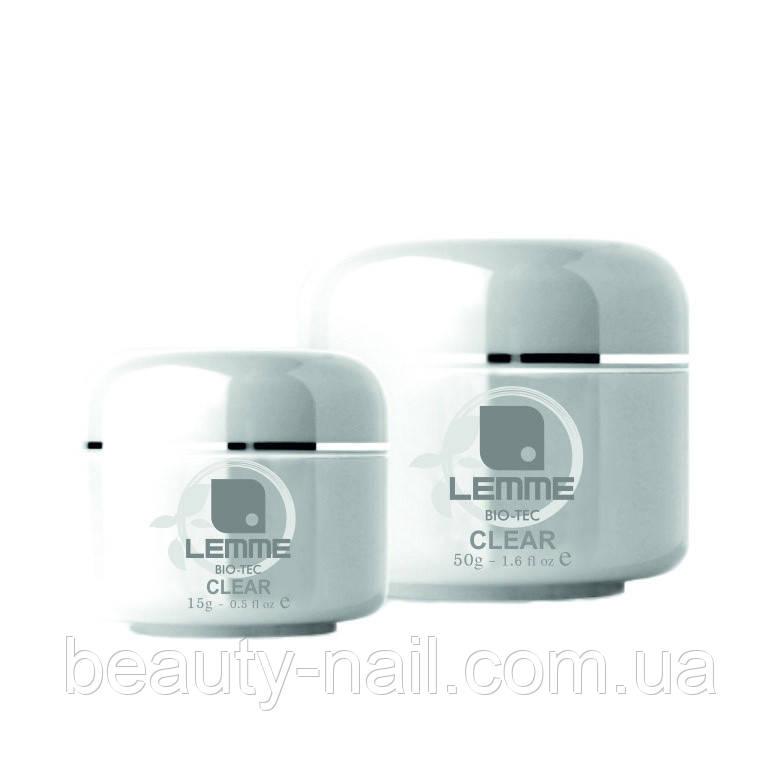 Гель для наращивания ногтей Lemme Clear 15 мл
