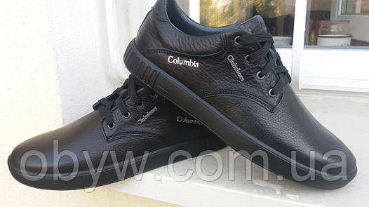 Кожаные мужские туфли calambia