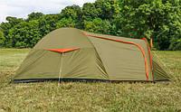 Палатка туристическая Abarqs Vigo 3, цвет зеленый  3х местная