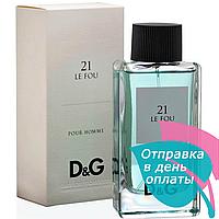 Мужская туалетная вода D&G Anthology Le Fou 21