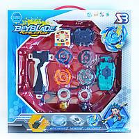 Игровой набор из 4-х волчков BeyBlade с ареной и запусками Storm Gyro SB
