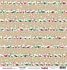 Новогодняя бумага 30,5*30,5 Scrapberries Зимние Каникулы Зимний Город