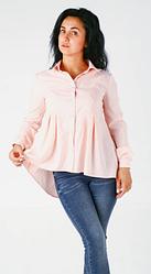"""Классическая женская рубашка """"Кира"""" размеры 46,48"""