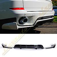 Накладка заднего бампера стиль AERO для BMW E70 2010-13