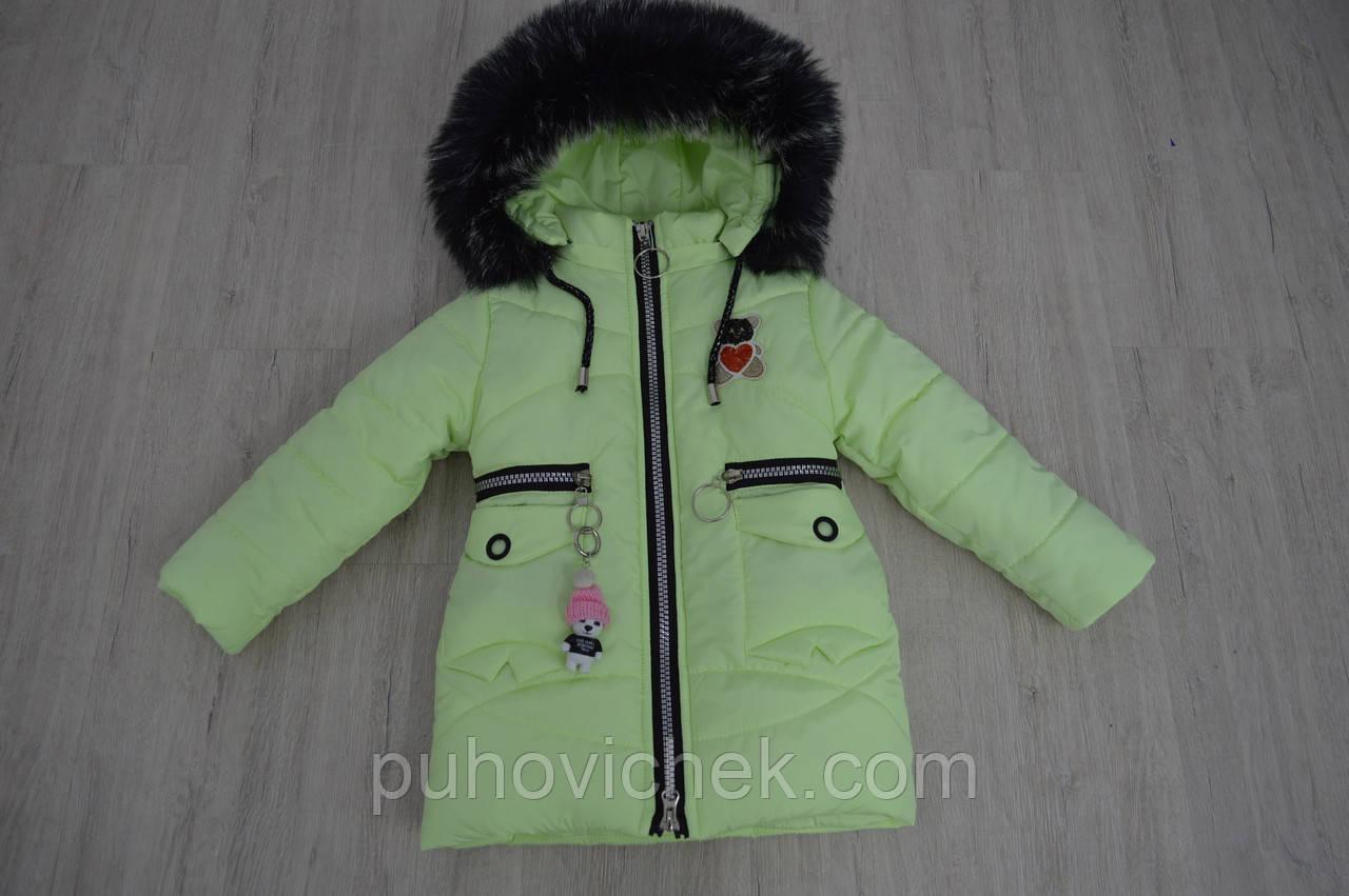 Модные зимние куртки и пальто для девочек Украина