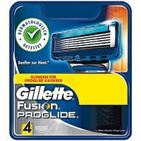 Gillette Fusion ProGlide сменные кассеты к бритве (4 шт)