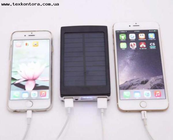Power bank Solar Power (LED) 15000mAh